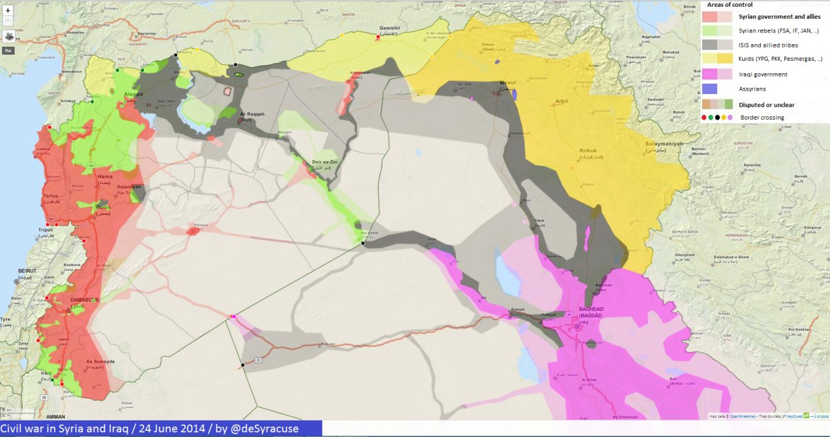 Syria and iraq civil war 24 june 2014 by @desyracuse.jpg